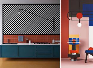 Daria Zinovatnaya a její odvážný interiérový design