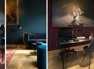 Reprezentativní prostory Vratislavského paláce připomínají privátní klub