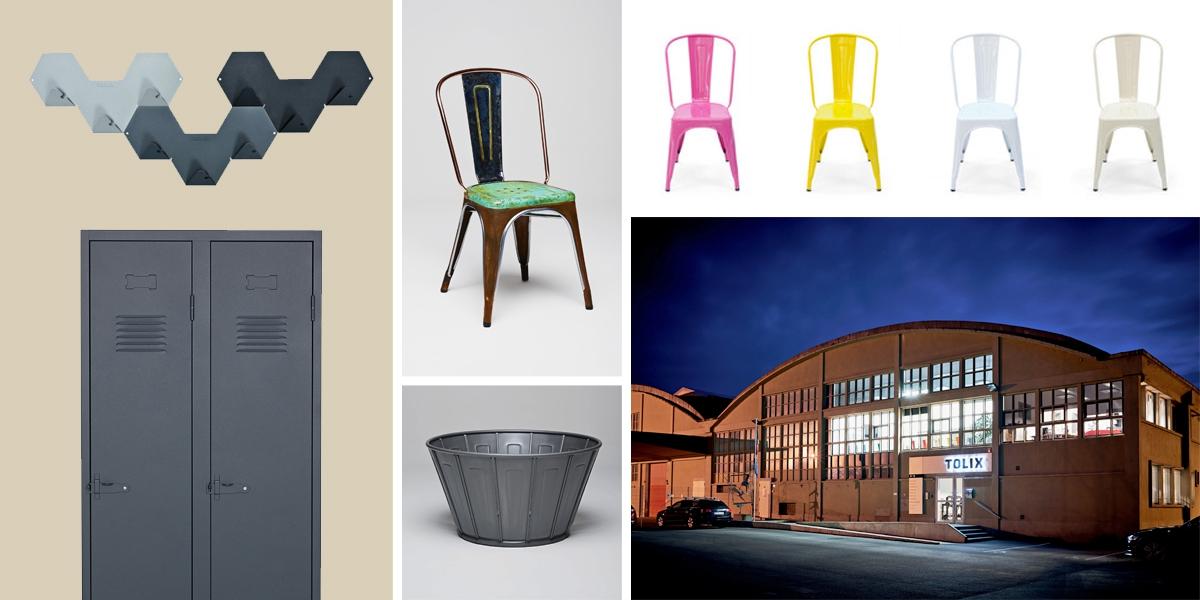 Tolix: plechové židle, které jen tak něco nerozhodí