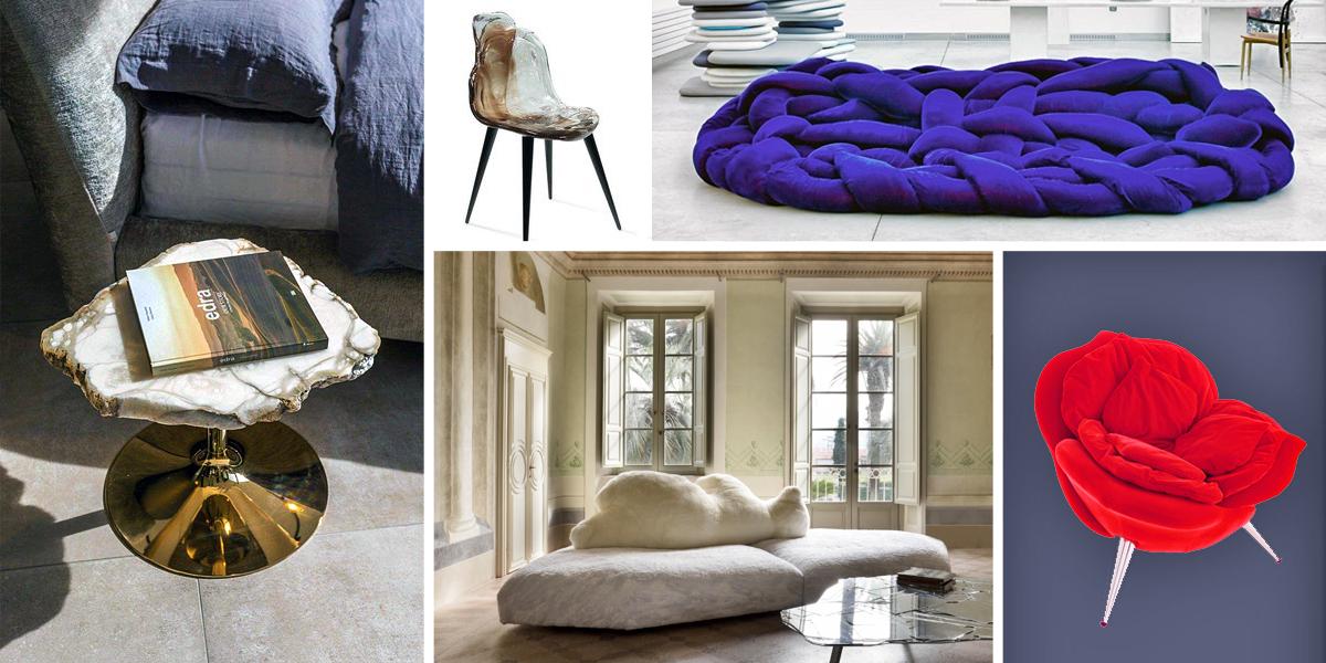 Obdivuhodný svět nábytku: EDRA Spazio