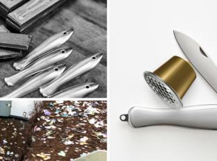 Nový nůž z použitých kapslí aneb když se spojí Nespresso a Mikov