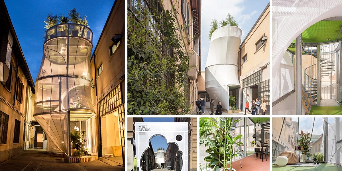 MINI Living Miláno: dům a aktivní ekosystém v jednom