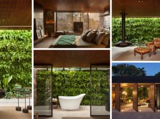 V Brazílii vzniklo bydlení plné přírodní harmonie