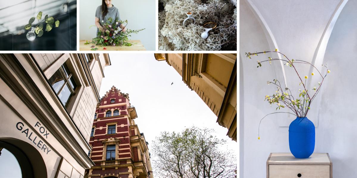 FOX Gallery spojuje umění a květiny