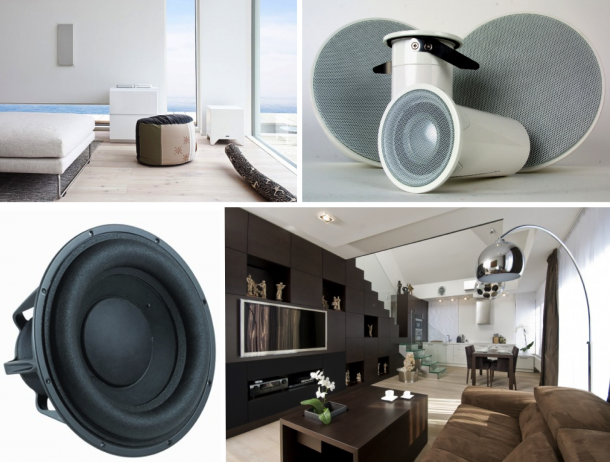 """Elektronika - Zvukové systémy: Varhanní design, přenosná taštička nebo """"hrající zeď"""