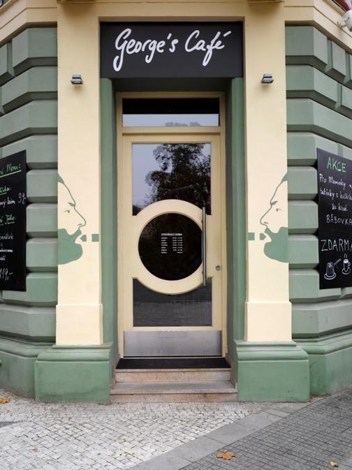 Bar / restaurace / café - Lekce holandského designu v Praze