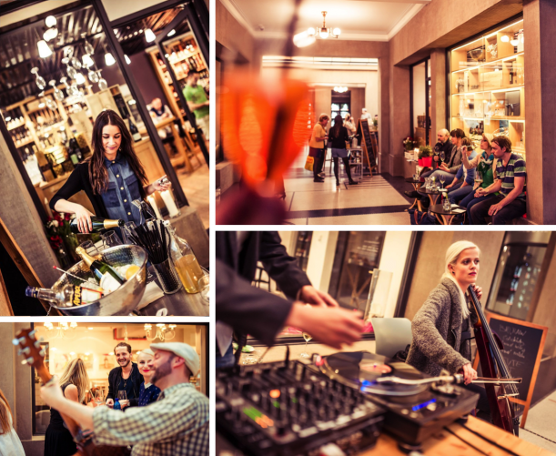 Bar / restaurace / café - Gurmet Pasáž Dlouhá: Námluvy prvotřídní gastronomie a historického prostoru