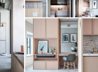 Malý prostor? Chytrý nábytek je řešení, ukazuje studio JAAK