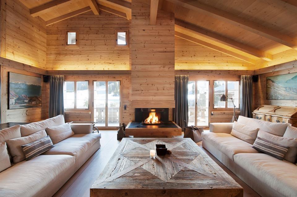 Horská chata ve vsi Gstaad