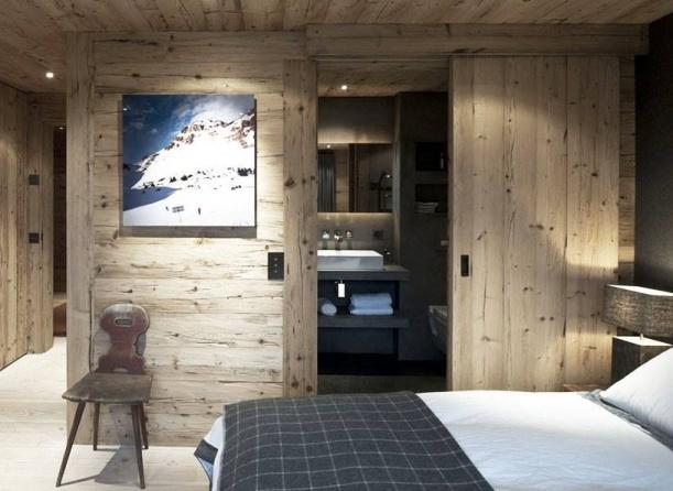 Obchod - Horská chata ve vsi Gstaad