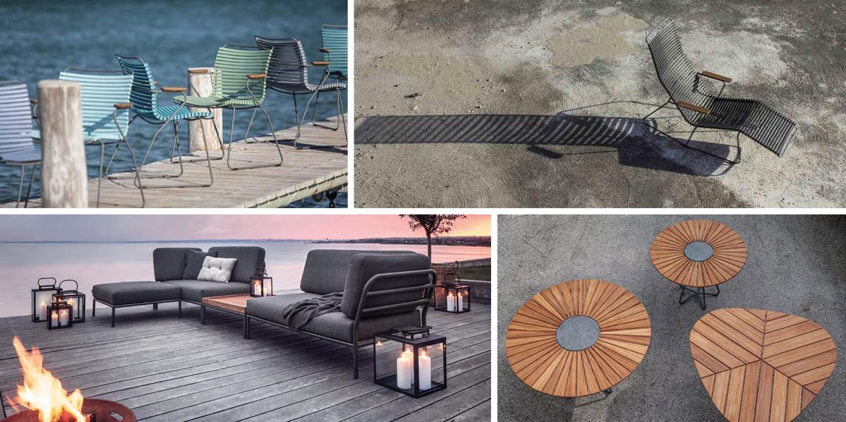 Dánský nábytek Houe: pohodlí nade vše, venku i uvnitř