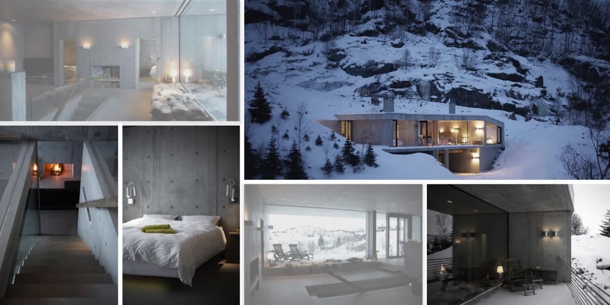 Hytte Sirdalen: Zimní idylka v norských horách