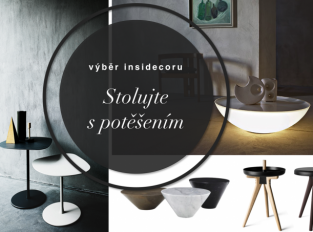 Stoly a stolky: Kamenný či svítící, je to držák každé domácnosti