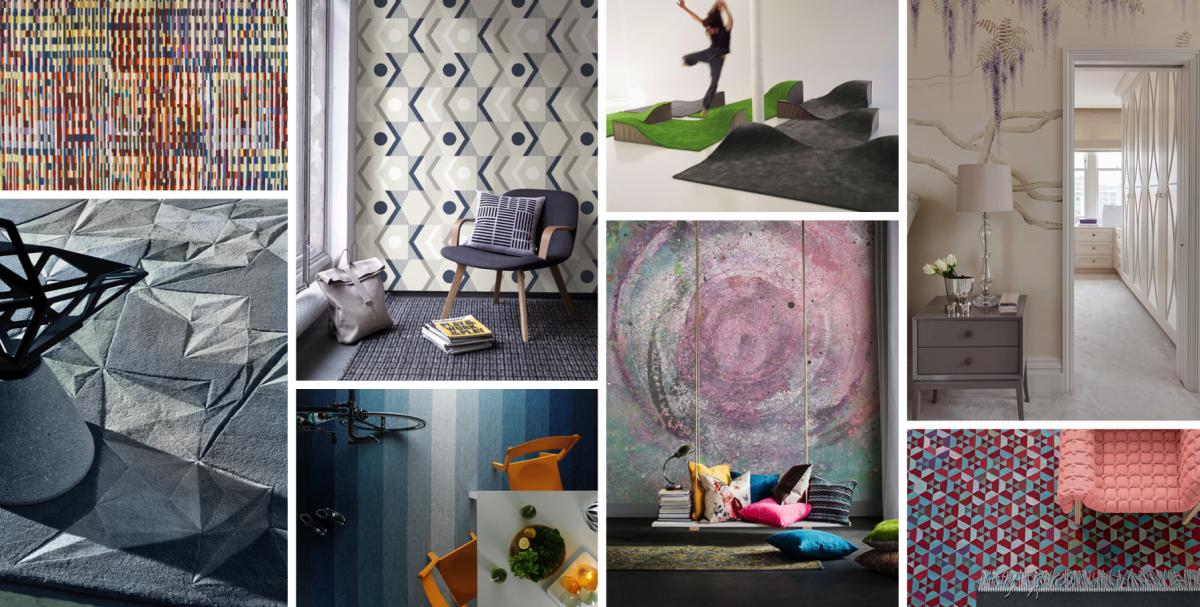 Koberce a tapety: Krůček k dokonalému interiéru