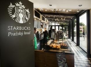 Kavárna Starbucks, jak ji neznáte: staronový design na Pražském hradě