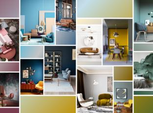 Nebojte se barev - odvážné interiéry jsou v kurzu