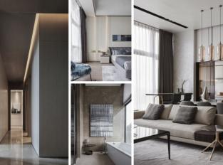 Moderní domov integrovaný do městského prostředí
