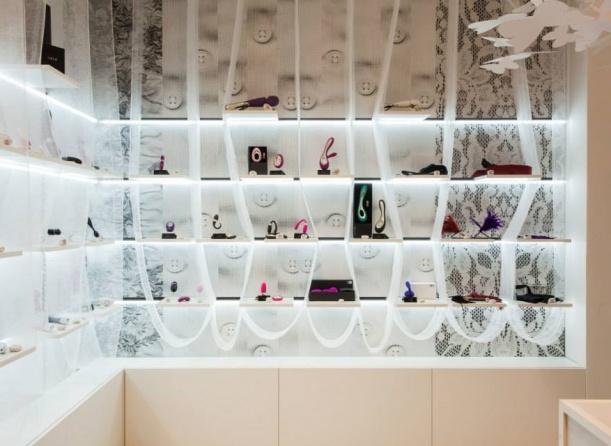 Obchod - Concept store Intimity architektek Dagmar Štěpánové a Kristýny Bělohradské