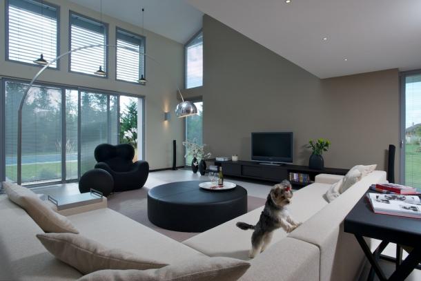 غرف معيشة مثالية
