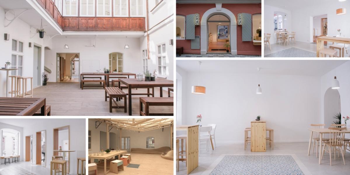 V Jakubské se otevřela nesmrtelná kavárna Atrium