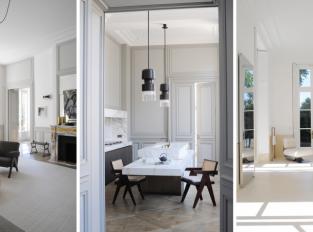 Soukromý apartmán od Josepha Diranda v Saint-Germain-des-Prés
