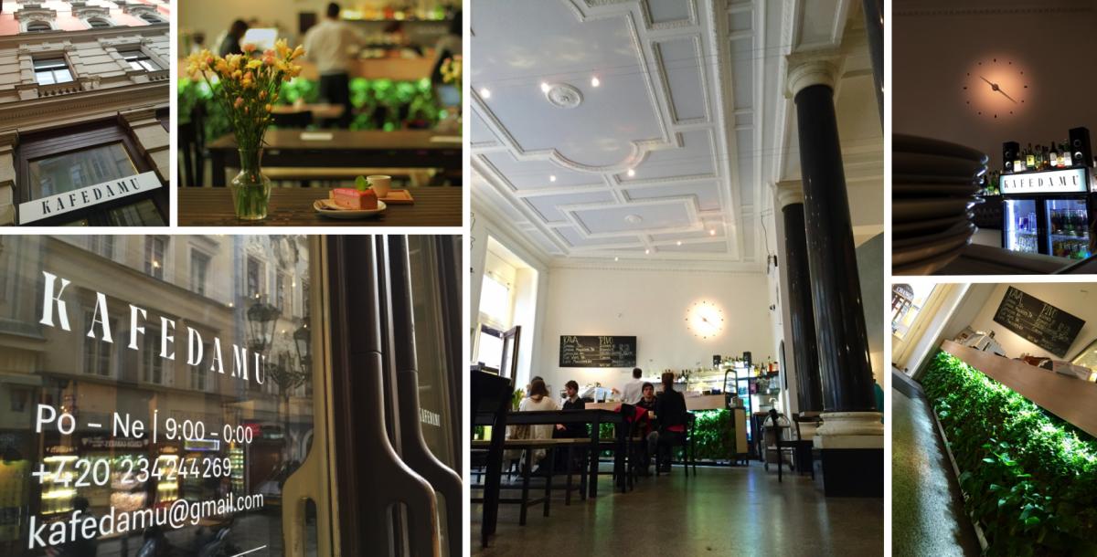 Kafe Damu: Inspirováno prostorem