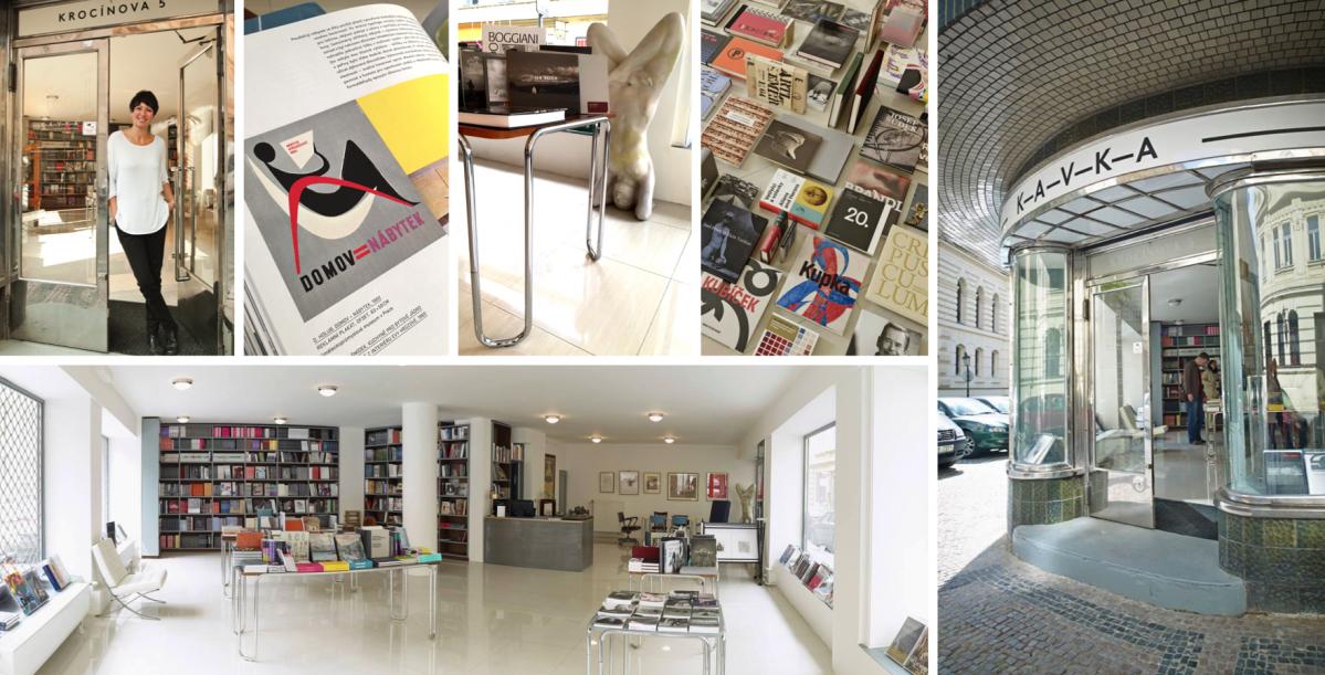 KAVKA: Knihkupectví s vášní pro architekturu a design