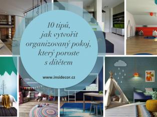 10 tipů, jak vytvořit organizovaný pokoj, který poroste s dítětem