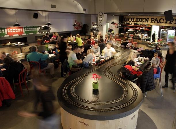 Bar / restaurace / café - Kavárna na kolejích