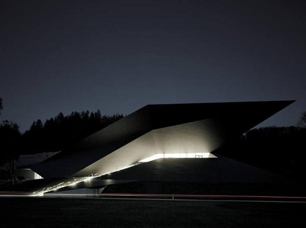 Další - Koncertní hala pro Tyrolský festival od studia Delugan - Meissl