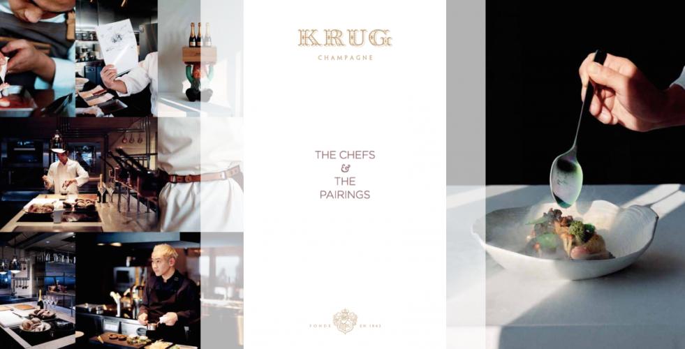 Šampaňské Krug a gastronomie: Dva světy, které pro sebe byly stvořeny