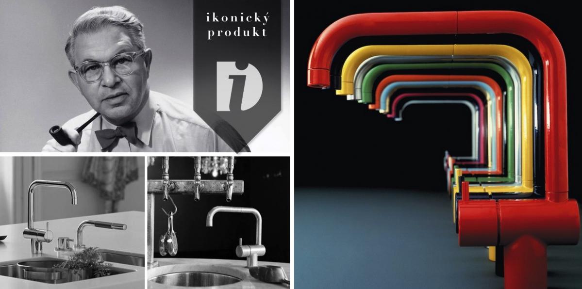 KV1 Mixer Tap: I vodovodní kohoutek může mít kvalitní design