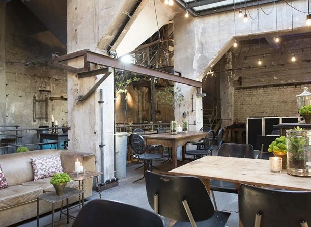 Kancelář - Berlínská restaurace La Soupe Populaire