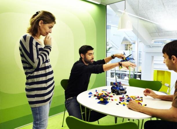 Kancelář - Lego
