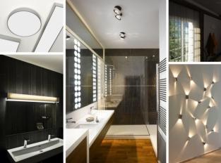 Koupelnové osvětlení: vytvořte prosvětlená rána i v zimě