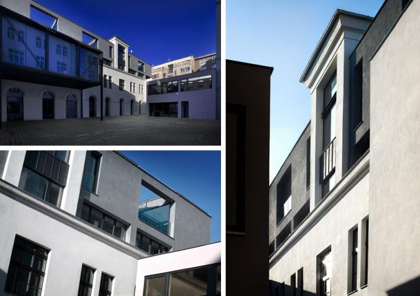 Kancelář - M Factory: Cesta od masokombinátu k moderní architektuře
