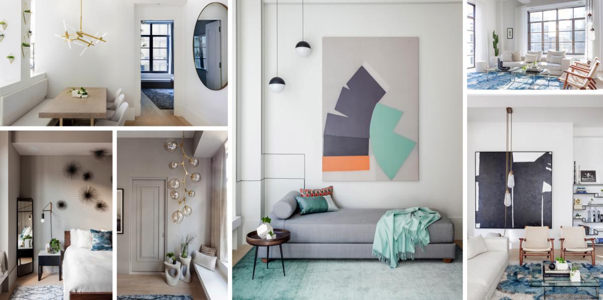 Změť barev a stylů. Poznejte renovovaný apartmán na Manhattanu