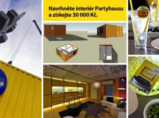Metaxa Partyhaus: obývací pokoj pro nevídanou party