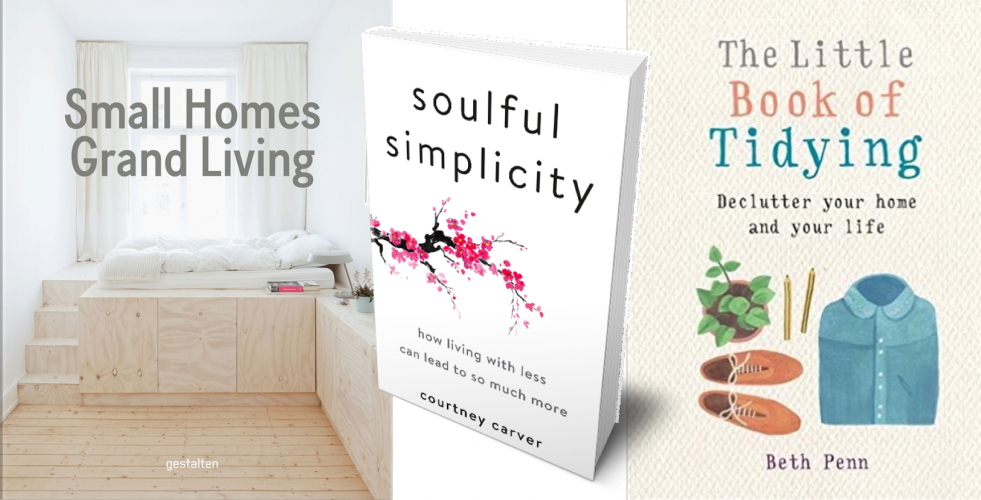 4 knížky, které ukazují krásu minimalismu v interiéru i životě
