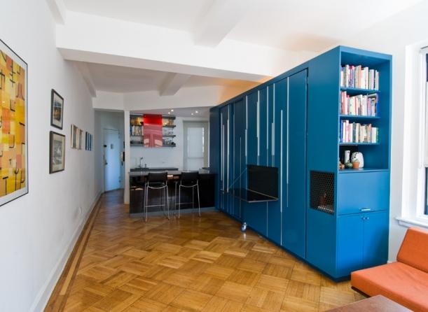 Interiér - Pracovat i spát ve skříni