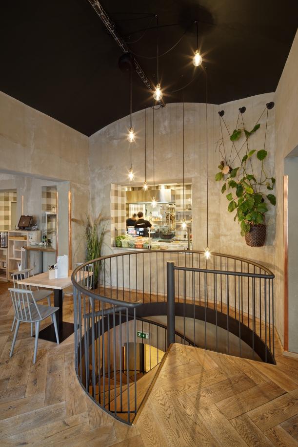 Bar / restaurace / café - Modrý Zub: Fast food, kde se nepospíchá