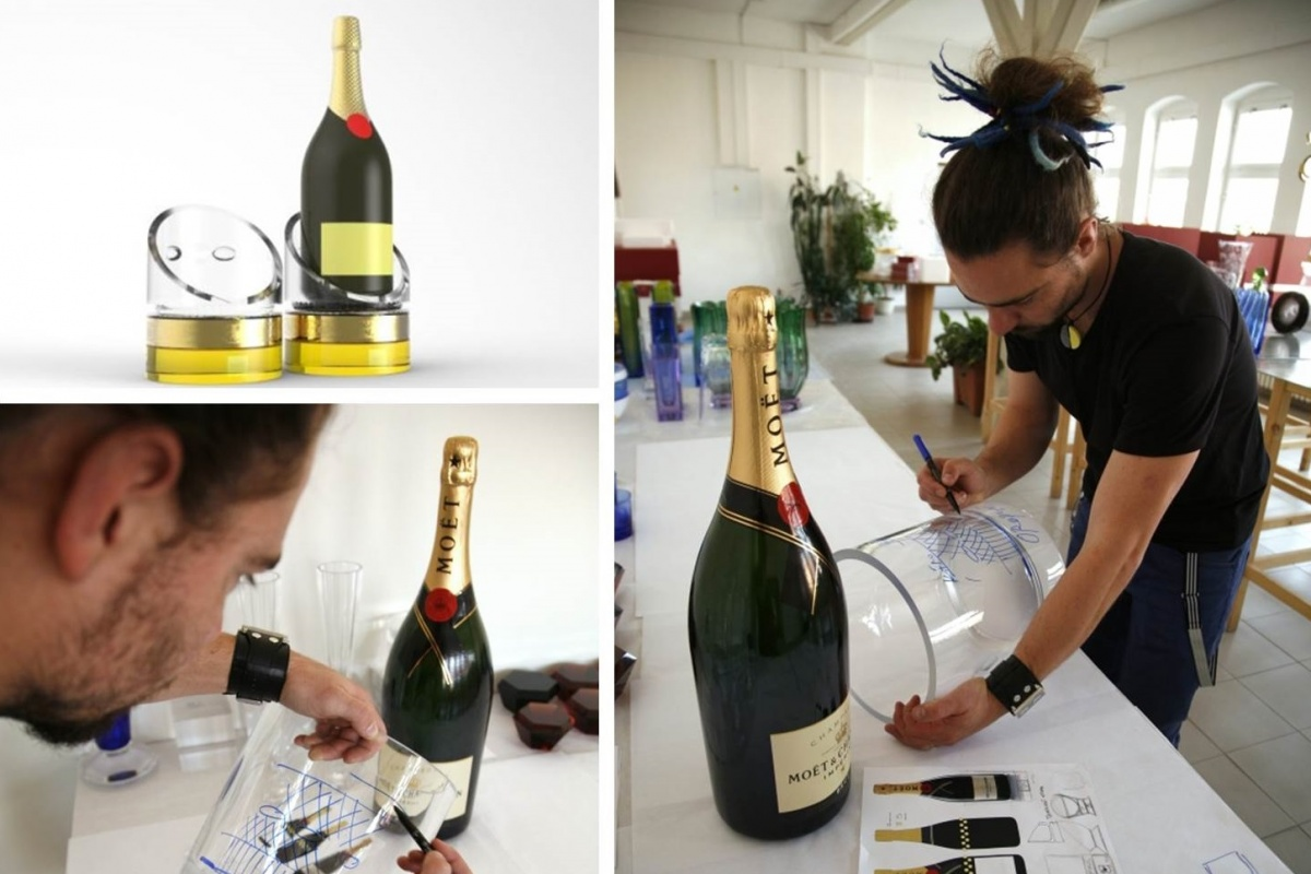 Když šampaňské, tak jedině z křišťálu
