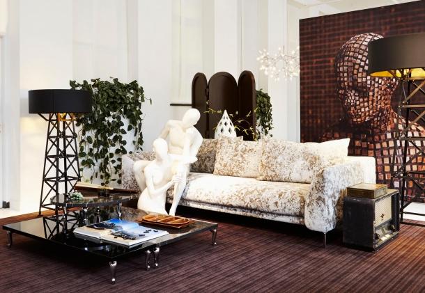 Moooi showroom v Amsterdamu.