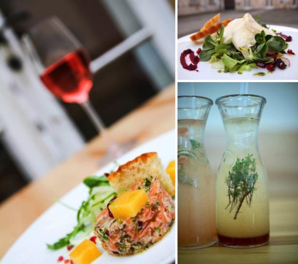 Bar / restaurace / café - Café Morgal: Když kaple změní háv