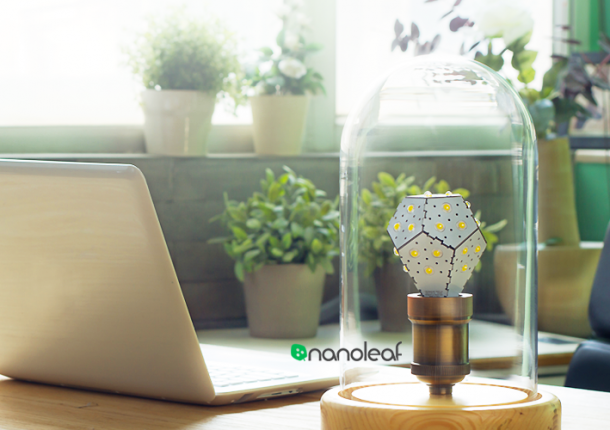 Osvětlení - Nanoleaf: Šetrná žárovka, která vám splní všechna přání
