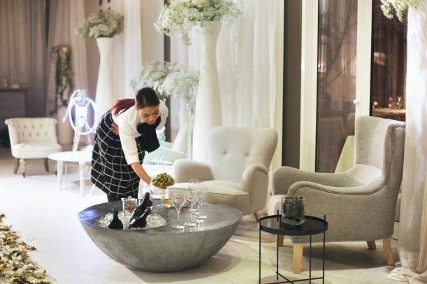 Bar / restaurace / café - Soho: pohádkový prostor, v němž se rokoko snoubí s modernou