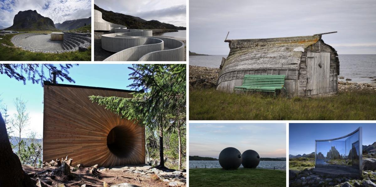 Norská krajina jako Mekka umění i architektury