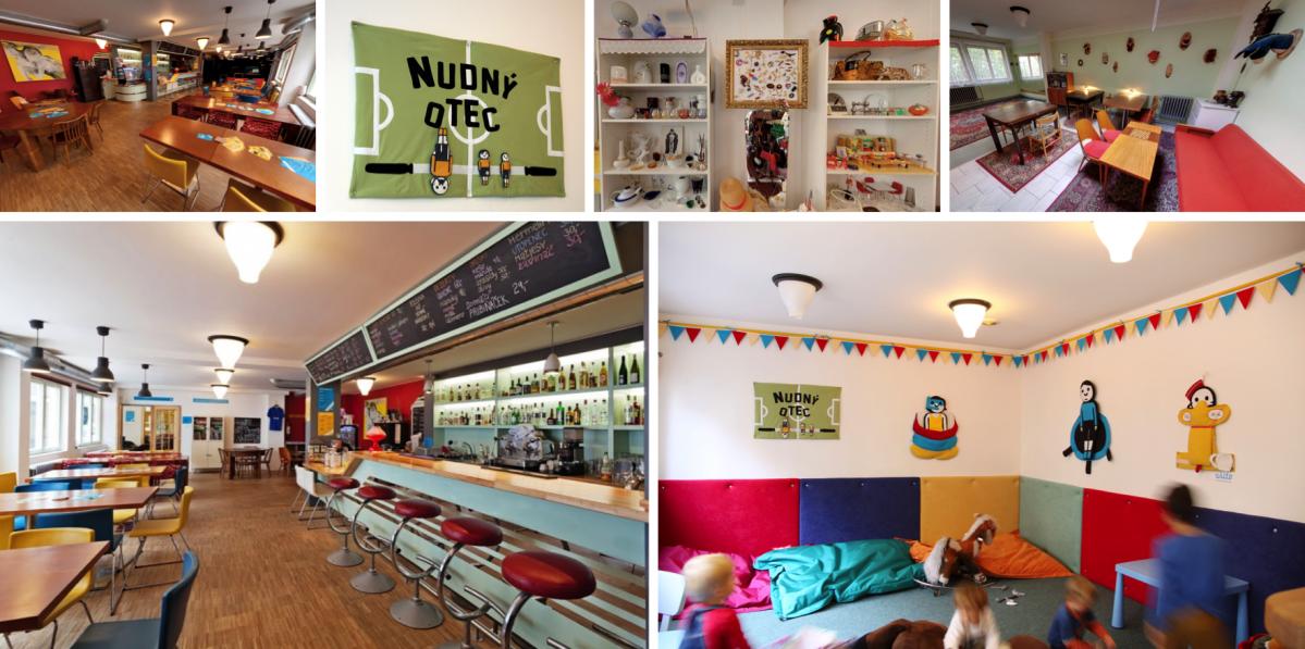 Kavárna Nudný otec: Nejnudnější podnik na světě