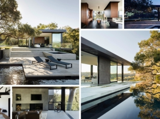 Oak Pass House: Dubová oáza  v Beverly Hills