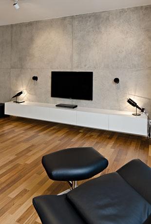 Interiér - Nevtíravá hra s kontrasty